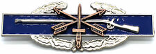 SPECIAL FORCES US Army Combat Infantry Badge Insignia CIB BLUE SILVER