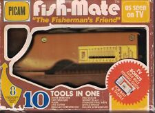 Picam Fish-Mate 10 Tools in One As Seen on TV Box Scale Scaler Knife Line Cutter