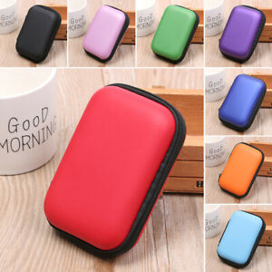 Headphone Headset Accessories Coin Purse Storage Box Carry Pouch Earphone Bag