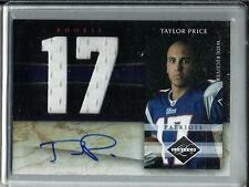Taylor Price 2010 Panini Limited Autograph Game Used Jersey Rookie #05/10