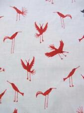 Tessuti e stoffe rossi bambino per hobby creativi, lunghezza/quantità al metro