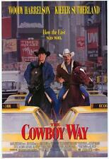 THE COWBOY WAY Movie POSTER 27x40 B Woody Harrelson Kiefer Sutherland Dylan