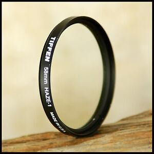 58mm Pro Tiffen Haze Lens Protection Filter 4 Tamron Canon Nikon Digital