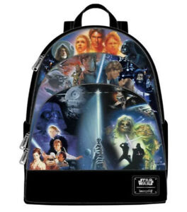 Star Wars Original Trilogy Loungefly Backpack LOUSTBK0218 in stock Brand New