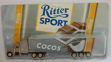 GRELL HO 1/87 CAMION REMORQUE TRUCK TRAILER PETERBILT 377 RITTER CHOCOLAT COCOS