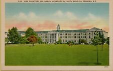 Sims Dormitory for Women University of Columbia South Carolina SC Postcard A17