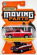 2021 Matchbox Moving Parts #2 1978 Subaru Brat BRILLIANT RED / MOC