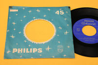 """JOHNNY HALLYDAY 7"""" PAS CETTE CHANSON 1°ST ORIG ITALY 1962 EX+ TOP RARE COLLECTOR"""