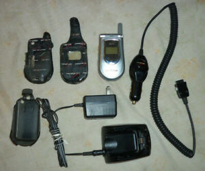 LG VX4500 VERIZON OEM Wireless Cell Phone & 2 Chargers - Wall & 12-Volt