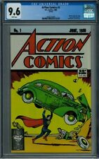 ACTION COMICS #1 50th Anniversary 1988 Reprint Edition CGC 9.6