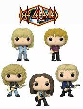 Def Leppard Complete Set (5) Funko Pop! Rocks - Rock Band