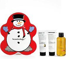 Baylis & Harding Beauticology Home of Beauty Snow Man Tin 3 Piece Set Brand New