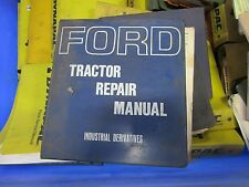 FORD  BACKHOE SERVICE MANUAL SERIES 750, 753, 755