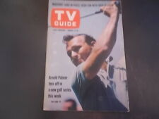 Arnold Palmer - TV Guide Magazine 1963