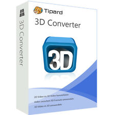 3D Converter Tipard deutsche Vollversion lebenslange Lizenz  ESD Download
