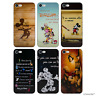 Disney Quote Case/Cover For Apple iPhone 5/5s/SE / Screen Protector / Silicone