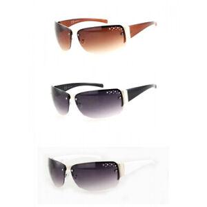 Sonnenbrille Damenbrille Strass Brille Monoglas Trendy 2076A