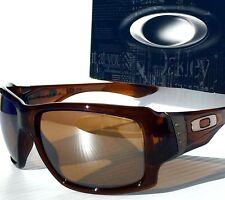 New* Oakley BIG TACO in ROOT BEER w TUNGSTEN Irididum lens Sunglass oo9173-03