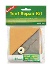 New!! Coghlan's Tent Repair Kit 8 in. W x 8 in. L Canvas & Nylon Patches 703