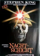 NACHTSCHICHT - GRAVEYARD SHIFT - 1990 - Filmplakat - Stephen King - Poster