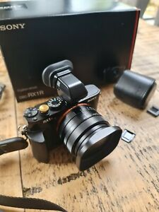 Sony RX1R  full frame,  with evf, grip and extras