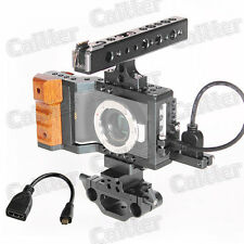 BMPCC Cage DSLR Rig w/ Handle Grip 15mm BMPCC for Blackmagic Pocket Camera +HDMI