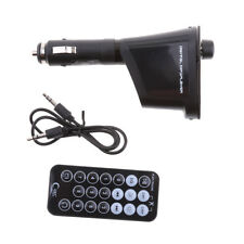 Car MP3 Player or Phone to Radio FM Transmitter Modulator Green Light