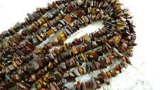 "1 Strand 15"" Tiger Eye Natural Gemstone Chip Beads"