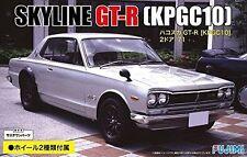 Fujimi ID-33 1/24 Nissan SKYLINE GT-R KPGC10 1971 w/2 Wheels from Japan Rare