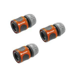 3er Set Gardena Schlauchverbinder 13 mm (1/2 Zoll) und 15 mm (5/8 Zoll) Lose NEU