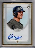 2017 Topps Transcendent Auto YOAN MONCADA Gold Framed 16/25 RC AUTOGRAPH Rookie