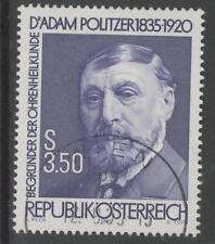 AUSTRIA SG2066 1985 DR.ADAM POLITZER FINE USED