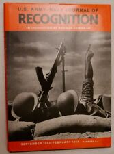 US Army-Navy Journal of Recognition Sept 1943-Feb 1944 No. 1-6 HBDJ 1990 1st Ed