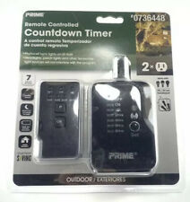 PRIME Outdoor Residential Lighting Countdown Timer Remote Photocell Brand New