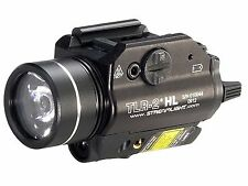 Streamlight TLR-2 HL Weapon Light LED with Laser and 2 CR123A Batteries 69261