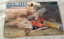 AUTOMOBILISMO FORMULA UNO FERRARI Cartolina Gilles Villeneuve Imola 1980