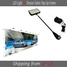 2 Pack Led Light For Pop Up Trade Show Booth Exhibit Backdrop Display 50 Led