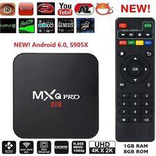 MXQ Pro 4K HDMI S905X Smart OTT TV Box 64Bit 2.0GHz Quad Core Android 6.0 1G+8G
