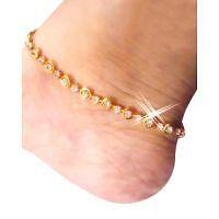 New Fancy Design anklet (payal) in golden color