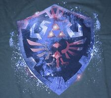 """Epic Hylian Shield"" Link Triforce NES Men's XXXL Shirt Teefury"