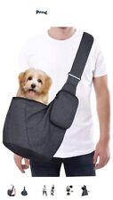 Pet Dog Cat Puppy Carrier Comfort Tote Shoulder Travel Bag Sling Backpack Grey