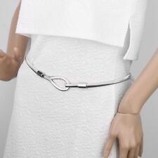 Elastische Taillengürtel Hüftgürtel Metallplättchen Gürtel Ketten Silber