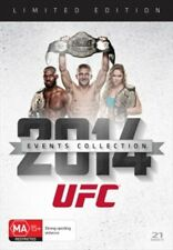 UFC 2014 EVENTS COLLECTION (21 DISCS ) LIMITED EDITION BRAND NEW