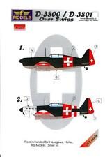LF Models 1/72 MORANE SAULNIER D-3800 Swiss Air Force Paint Mask Set