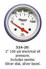Speco 2'' ( 50mm ) 100 PSI Electrical Oil Pressure Gauge P/N 524-20