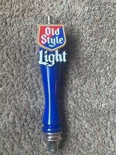 L@@K! Heilmanns Old Style Light Beer Tap Handle Bar Tavern Pub Brewery Man Cave