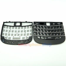 New Keypad Keyboard + Bottom Frame For BLACKBERRY 9900 9930 BLACK