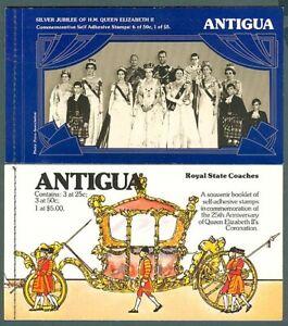 ANTIGUA BOOKLETS x2 (ID:729/D10005)