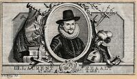 Portrait XVIIIe Laurens Reael Vereenigde Oostindische Compagnie Dutch East India