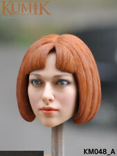"KUMIK048 Female 1/6 Scarlett Johansson Head Sculpt F hot toys phicen 12"" Figure"